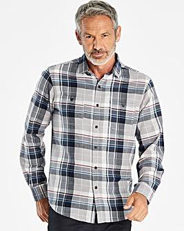 W&B Multi Long Sleeve Twill Shirt R