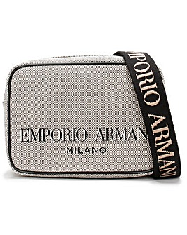 Emporio Armani Cotton Camera Cross-Body