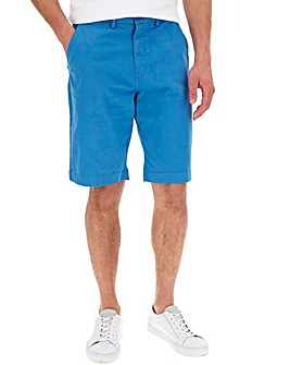 Azure Blue Stretch Chino Shorts