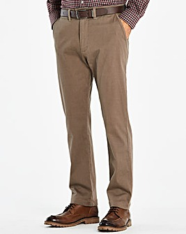 W&B Brown Chino Trousers 31in