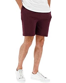 Mulberry Fleece Jog Shorts