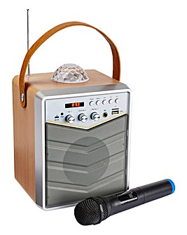JDW Portable Bluetooth Karaoke System