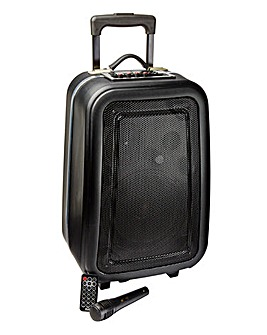 JDW Portable Large Karaoke Suitcase - Including Microphone