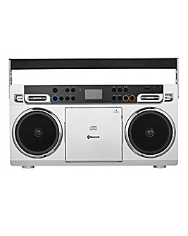 JDW Retro Boombox with Bluetooth