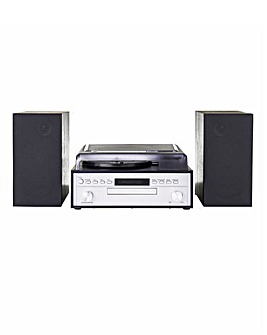 JDW Midi Hifi System with Turntable