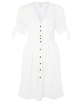 Monsoon PLAIN BUTTON THROUGH DRESS