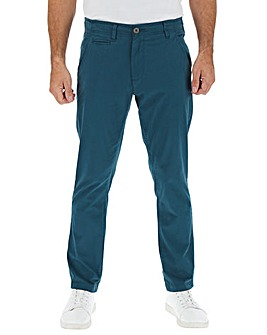 Dark Blue Stretch Tapered Chino 31In