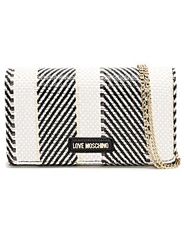 Love Moschino Kathy Woven Cross-Body Bag