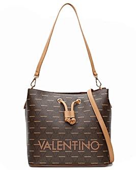 Valentino Bags Liuto Repeat Logo Bucket