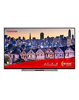 Toshiba 49 inch 4K UHD TV + Installation