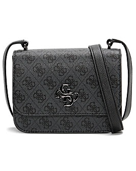 Guess Mini Noelle Repeat Logo Cross-Body Bag
