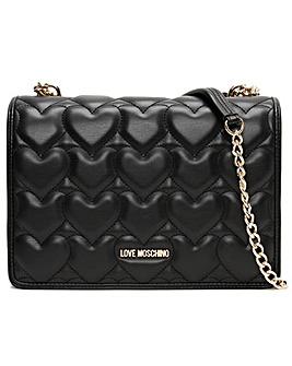 Love Moschino Janice Heart Shoulder Bag
