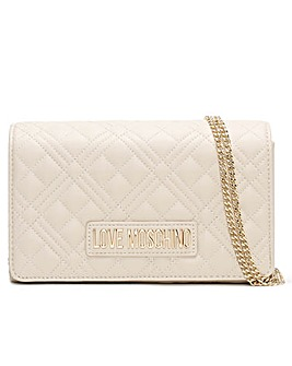 Love Moschino Jill Diamond Quilt Cross-Body Bag