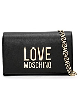 Love Moschino Friends Logo Cross-Body