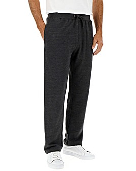Charcoal Straight Jog Pants 29in