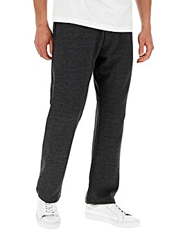 Charcoal Straight Jog Pants 27in