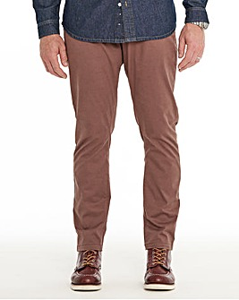 Walnut Stretch Chinos 33in
