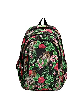 """Enrico Benetti Capetown Polyester Backpack with 15"""" Laptop Pocket"""