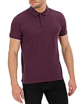 Mulberry Stretch Tipped Polo Long