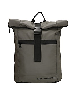"""Enrico Benetti Townsville Polyester Backpack with 15"""" Laptop Pocket"""