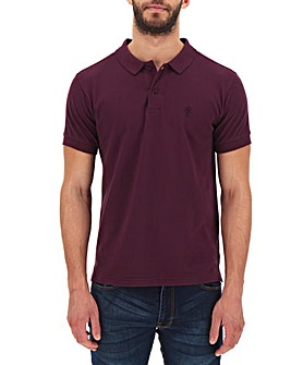 Mulberry Short Sleeve Embroid Polo Long