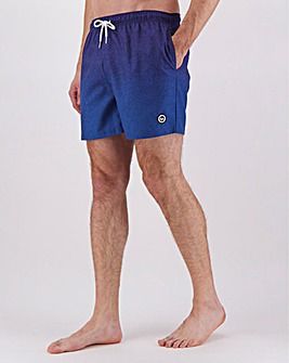 Hype Blue Speckle Fade Swim Shorts