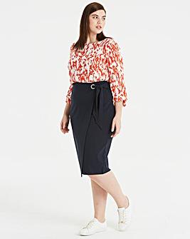 I.Scenery Bini Midi Skirt