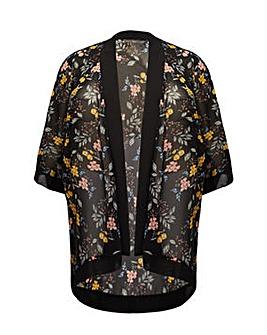 Mela London Curve Garden Print Kimono