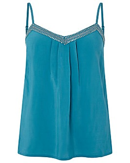 Monsoon Brooke Embellished Cami