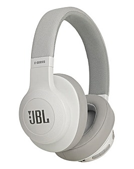 JBL E55BT Wireless Headphones White