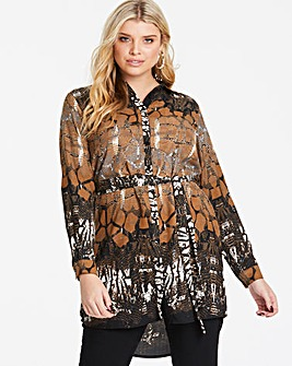 AX Paris Curve Tunic Shirt Dress