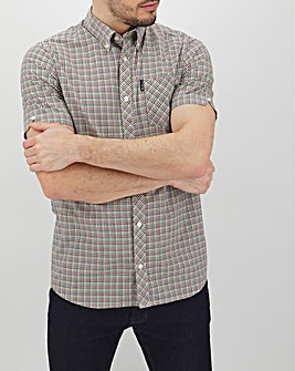 Ben Sherman Mini Gingham Shirt Long