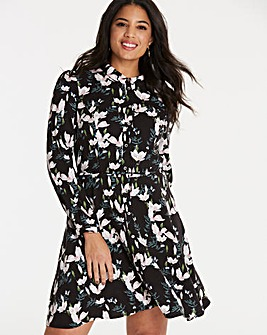 Oasis Magnolia Skater Shirt Dress