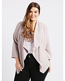 Koko Pale Mauve Waterfall Jacket