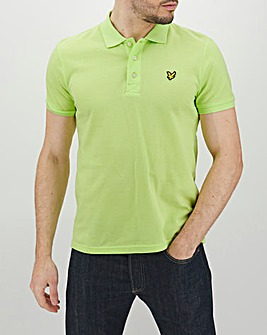Lyle & Scott Yoke Plain Polo Shirt