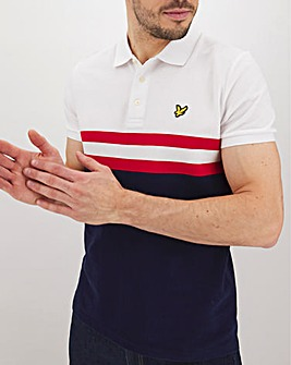 Lyle & Scott Yoke Stripe Polo Shirt