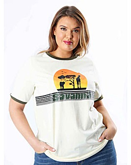 Koko Savanna Slogan T-Shirt