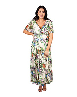 Scarlett & Jo Float Sleeve Maxi Dress