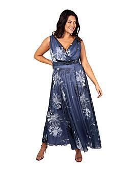 Scarlett & Jo Print Maxi Dress