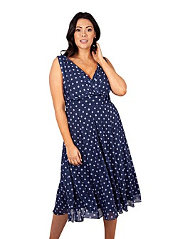 Scarlett & Jo Spot Midi Dress