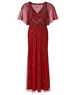 Monsoon Tatiana Embellished Maxi Dress