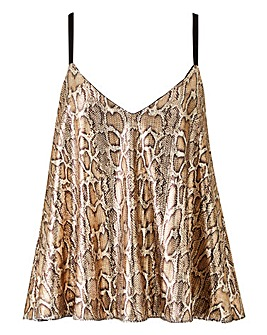 Club L London Snake Sequin Cami