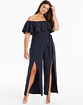 Club L London Bardot Jumpsuit