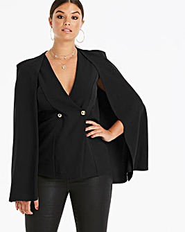 Club L London Cape Blazer