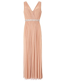 Monsoon Elyse Embellished Maxi Dress