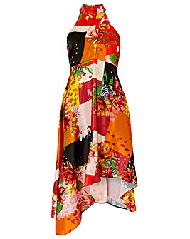 Monsoon Piper Patch Print Dress