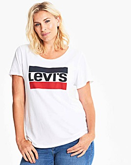 Levi's Perfect T-Shirt with Vintage Logo