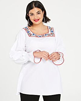 Fashion Union Embroidered Tunic