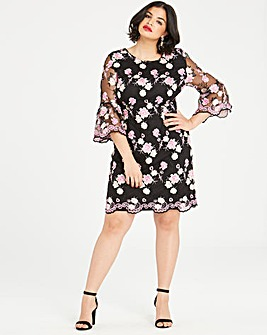 Dolly & Delicious Embroidered Dress