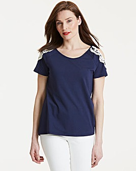 Anna Field Cold Shoulder Top